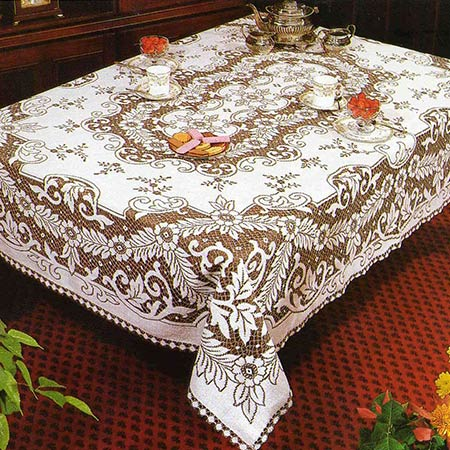 Lace Tablecloths From Quintessential English Lace Nottingham 32 ...