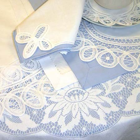 Lace Tablecloths From Quintessential English Lace